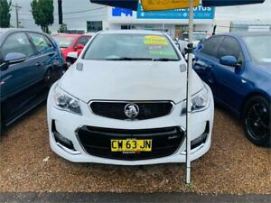 2016 Holden Commodore VF II MY16 SS White 6 Speed Sports Automatic Sedan Minchinbury Blacktown Area Preview