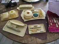 COLLECTION OF ANTIQUE FRENCH IVORY