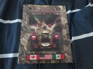 1995 Great American Race Vintage Car Rally Program Book Yearbook Cambridge Kitchener Area image 1
