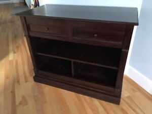 Solid wood tv stand/hutch