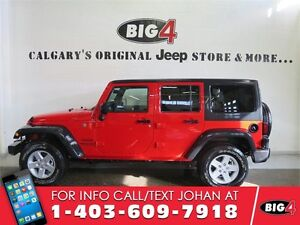 2016 Jeep Wrangler Unlimited Sport, Automatic, Alloys