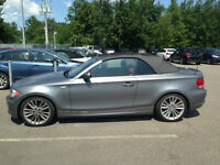 BMW 128i cabriolet sport pack cuir rouge corail garantie 6 ans