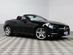 2013 Mercedes-Benz SLK R172 250 BE Obsidian Black 7 Speed Automatic G-Tronic Convertible Jandakot Cockburn Area Preview