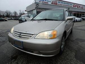 2002 Honda Civic LX-G SE, being sold AS-IS