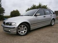 52 BMW 320 2.0D SE TURBO DIESEL AUTOMATIC TOURING/ESTATE 93K FSH 8 STAMPS SILVER
