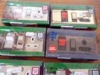 Schneider Ultimate Screwless Cooker Control unit with socket. JOBLOT 6 items