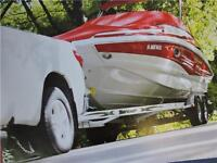 Trailers for Pontoons, Boats, Inboards, PWC