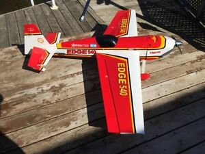 Rc plane Seagull Edge 540 1.20 with DLE 20cc gas + servos