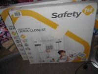 BNIB Pressure Fit Stairgates x 2, Safety 1st Quick Close ST Extra Secure, £18 each or £35 for the 2