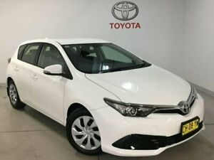 2016 Toyota Corolla ZRE182R Ascent S-CVT White 7 Speed Constant Variable Hatchback West Ryde Ryde Area Preview
