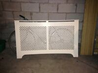 Fretwork radiator cover