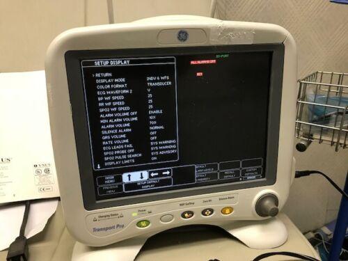 GE transport Pro monitor