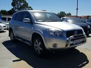 2007 Toyota RAV4 ACA33R Cruiser Silver 4 Speed Automatic Wagon St James Victoria Park Area Preview