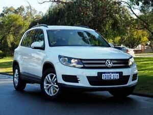 2012 Volkswagen Tiguan 5N MY12.5 118TSI 2WD White 6 Speed Manual Wagon Myaree Melville Area Preview