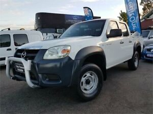 2008 Mazda BT-50 08 Upgrade B3000 DX White 5 Speed Automatic Dual Cab Pick-up Mount Hawthorn Vincent Area Preview