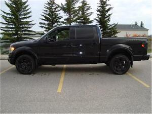 2013 FORD F150 LIMITED CREW SHORTBOX 4X4 6.2L 98K ONLY $39,900..