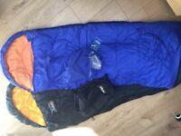 Children's Sleeping Bags (1 x Vango and 1 x Gelert)