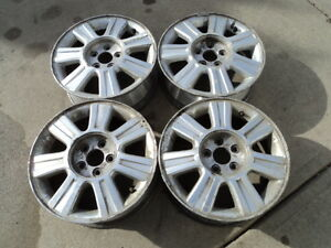 4 16 inch Alloy Rims for Ford Vehicles