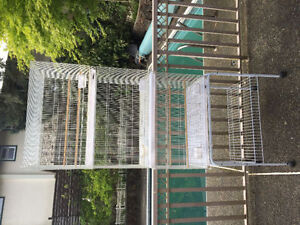 3 Breeding Cages with Stand. new cage