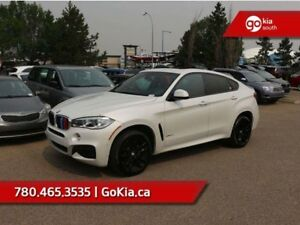 2017 BMW X6 M-SPORT! LOW KM, NAV, HEADS-UP DISPLAY, HEATED FRO