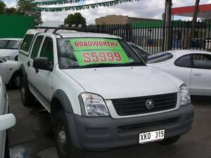 2003 Holden Rodeo RA LX Crew Cab 5 Speed Manual Dual Cab Nailsworth Prospect Area Preview