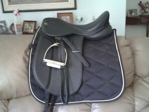 Supra Synthetic Dressage Saddle Package London Ontario image 1