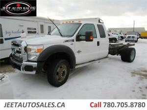 2013 Ford Super Duty F-550 XLT Dually Cab & Chassis 6.7L Diesel