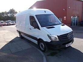 Mercedes-Benz Sprinter 313 CDI MWB High Roof 3.5T Van DIESEL MANUAL WHITE (2015)