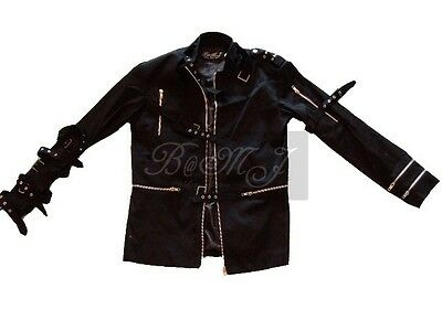 MJ Bad Black Jacket Sz S / M / L / XL /XXL/3XL - Mj Bad Costume