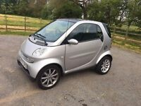 SMART, CITY PASSION 61, AUTO, COUP,E 2007, SILVER.