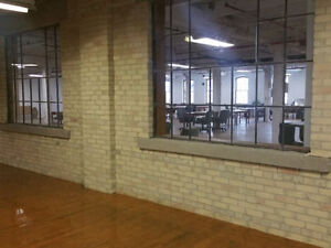 1 Desk to 40,000 sqft++ by GOOGLE Kitchener Brick and Beam Space