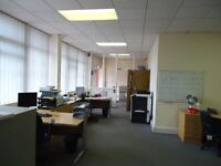 Excellent Modern Office Space Desk Space Storage Space Workshop Commercial Unit To Let £346.15 PW