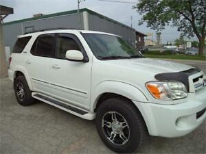 2005 Toyota Sequoia Limited TOP OF THE LINE NAVI DVD 172000 MILE