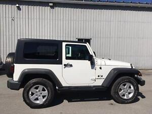 2007 Jeep Wrangler X **TRAIL RATED**