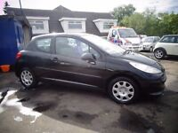 2007 56 reg peugeot 207 1.4 3 door mot ex we car must be cheap £1295