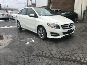 2015 Mercedes-Benz B-Class B 250 Sports Tourer 1owner/4matic/nav/cam/blindspo
