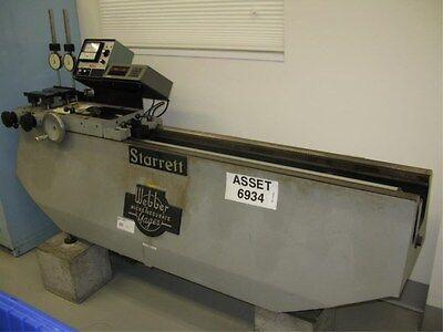 Starrett 45 Universal Length Measuring Machine Calibrator W Accessories