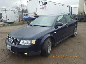 2004 Audi A4 1.8 Quattro Turbo Leather/Sunroof