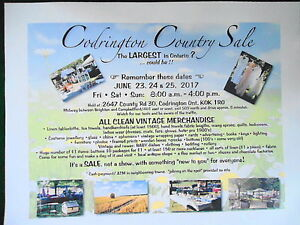 CODRINGTON COUNTRY SALE