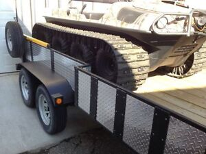 2015 Argo 8x8 Frontier EFI and Trailer Package