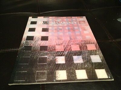 VINTAGE PAUL McCARTNEY *WORLD TOUR* PROGRAM BOOK (1989) - GREAT SHAPE!