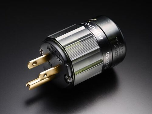 FURUTECH FI-28M(G) Hi-End Performance goldplate over Alpha-copper male AC-plug