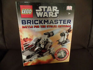LEGO STAR WARS Brickmaster: Battle For The Stolen Crystals: Book