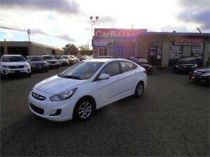 2013 HYUNDAI ACCENT GL 4 CYL GAS SAVER EASY CAR FINANCE