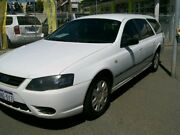 2008 Ford Falcon BF MK III White Automatic Wagon Wangara Wanneroo Area Preview