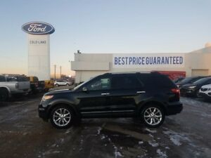 2014 Ford Explorer LIMITED, DUAL PANEL MOONROOF, 2nd ROW CAPTAIN