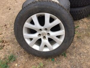 235/60/18 rims with studded tires