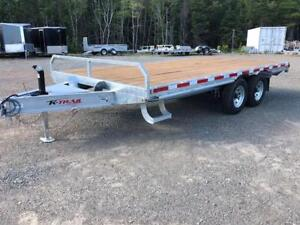 2019 Deckover 8 1/2 x 16' with 2 x 5200 lb axles