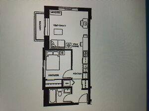 Sage 9 1 Bedroom condo End Unit with Balcony