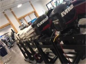 Huge Selection of New and New-Non-Current Evinrude Outboards!